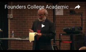 Founders College Academic Orientation 2011