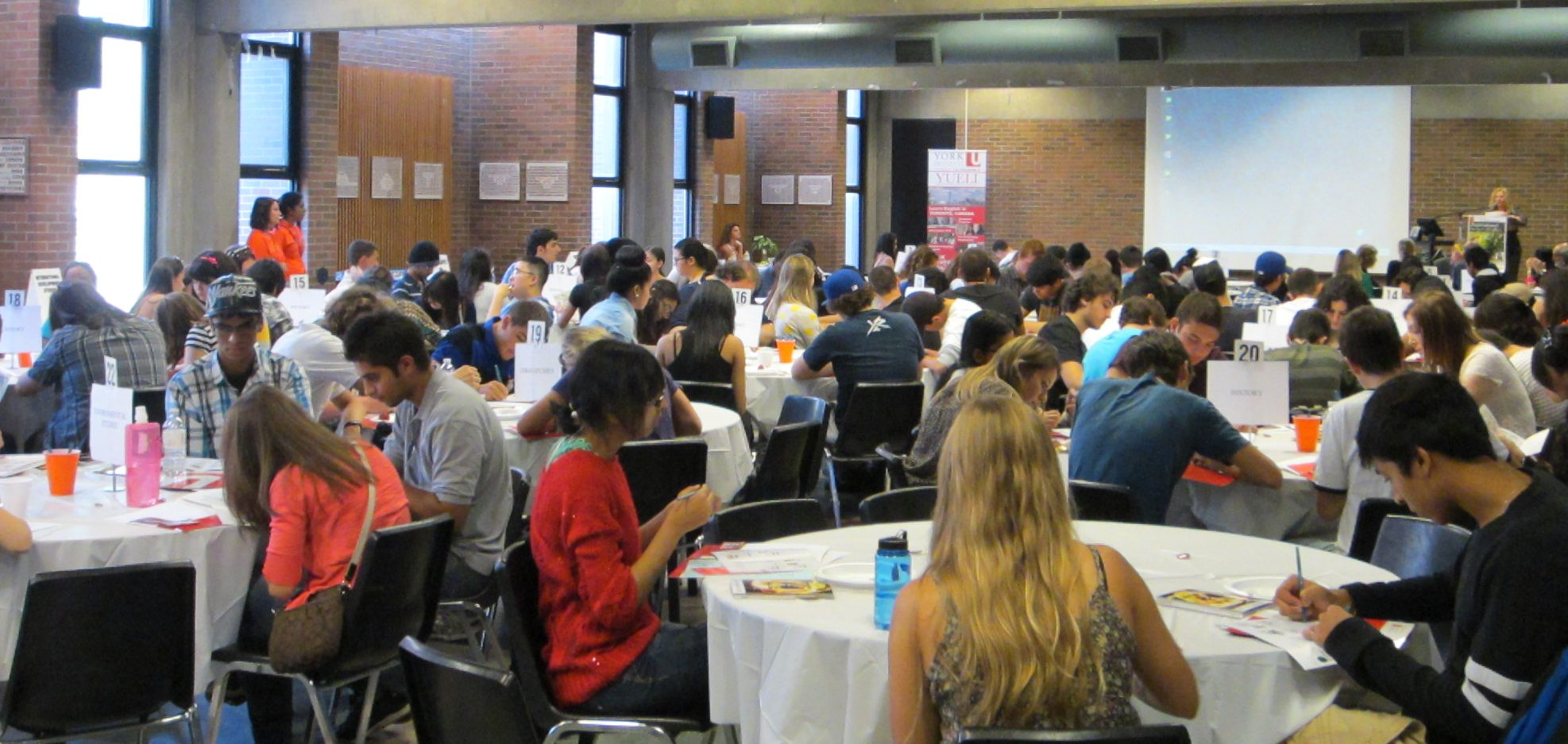 First year students at Founders College Academic Orientation